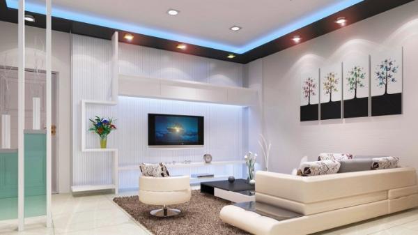 Đèn led âm trần lắp đặt tại nhà