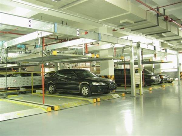 Hệ thống đỗ xe tự động hầm ngầm