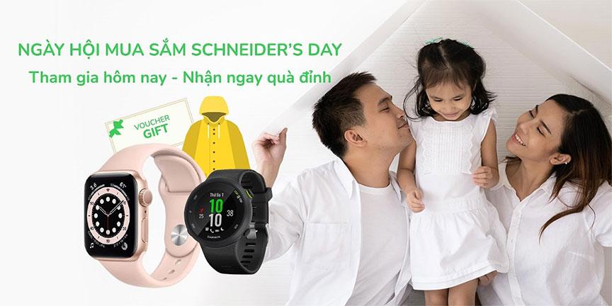 Ngày hội mua sắm Schneider's Day - Cơ hội lớn nhất năm dành cho đại lý